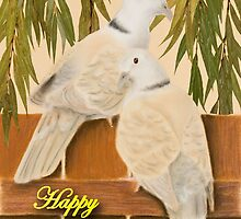 Sweetest Day Doves by jkartlife