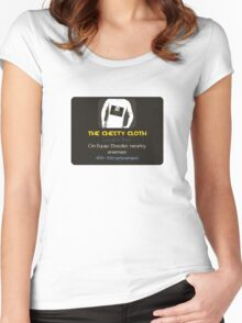 Item Unlocked - The Chesty Cloth Women's Fitted Scoop T-Shirt