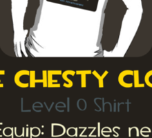 Item Unlocked - The Chesty Cloth Sticker
