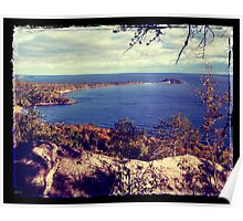 Michigan Lake Superior Scene Poster