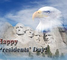 Presidents' Day Mt Rushmore by jkartlife