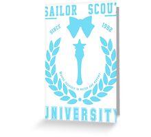 Sailor Scout University: Sailor Mercury Greeting Card