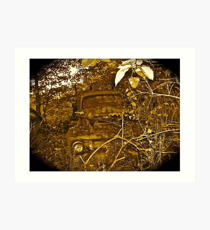 Rust and remember 4 Art Print