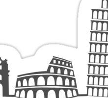 Italy Cityscape Sticker