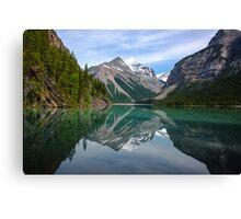 Mirror on Lake Kinney Canvas Print