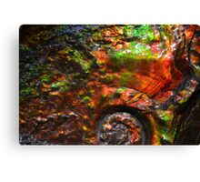 Museum fossil Canvas Print