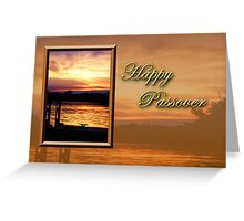 Passover Pier Greeting Card