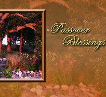 Passover Blessings Woods by jkartlife