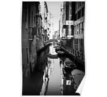 Venetian Canals Poster
