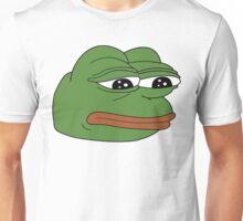 funny sad frog meme xDDDD Unisex T-Shirt