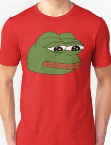 funny sad frog meme xDDDD T-Shirt