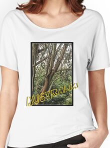 Gum tree in grunge Women's Relaxed Fit T-Shirt
