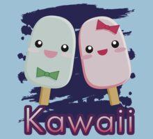 Kawaii popsicles by AnimePlusYuma