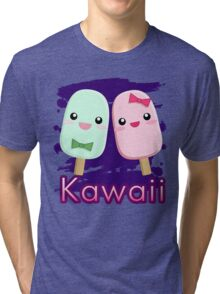 Kawaii popsicles Tri-blend T-Shirt