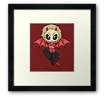 Demon!Gabe Framed Print