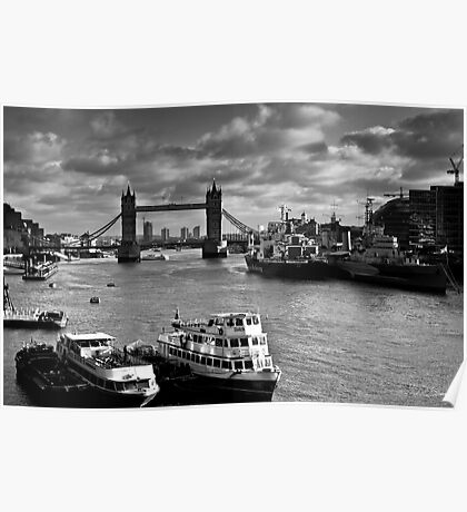 River Thames view Poster