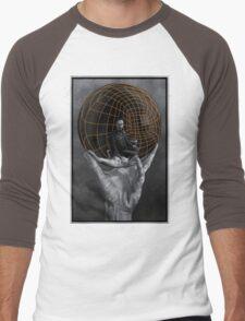 Evil Mastermind  Men's Baseball ¾ T-Shirt