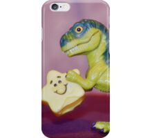 Dino holding a star iPhone Case/Skin
