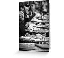Parisian Cafe Greeting Card
