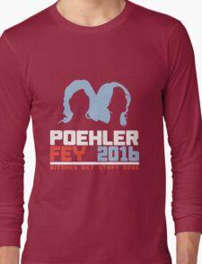 Poehler Fey 2016 funny nerd geek geeky Long Sleeve T-Shirt