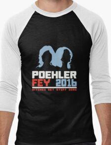 Poehler Fey 2016 funny nerd geek geeky Men's Baseball ¾ T-Shirt