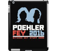 Poehler Fey 2016 funny nerd geek geeky iPad Case/Skin