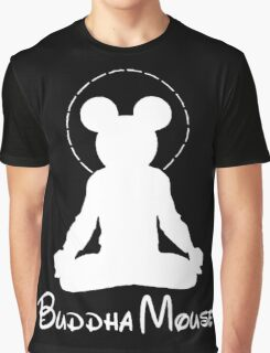 buddha mouse Graphic T-Shirt