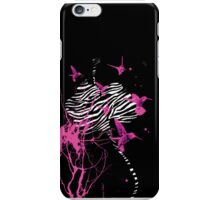 Zebra Orchid iPhone Case/Skin