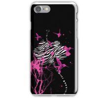 Zebra Orchid iPhone Case/Skin
