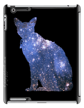 iPad case - Star Cat Gremlin by Odille Esmonde-Morgan