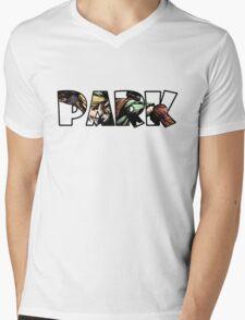 """""""Link"""" in """"Park"""" Mens V-Neck T-Shirt"""