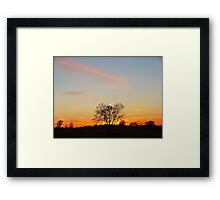 Lonesome Plains Framed Print
