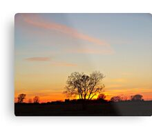 Lonesome Plains Metal Print