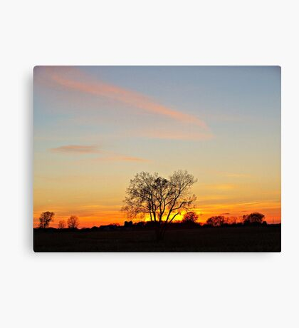 Lonesome Plains Canvas Print