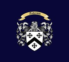 Anderson family shield by jessellstuff