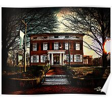 The Grubb Mansion • Lancaster Poster