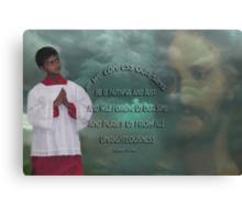 *•.¸♥♥¸.•*IF WE CONFESS BIBLICAL*•.¸♥♥¸.•* Canvas Print