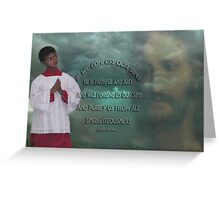 *•.¸♥♥¸.•*IF WE CONFESS BIBLICAL*•.¸♥♥¸.•* Greeting Card