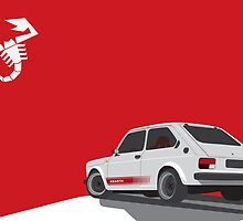 Abarth 127 by Gutesdesignist