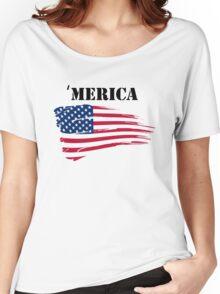 'Merica Women's Relaxed Fit T-Shirt