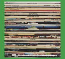 Vinyl Record Collector   Baby Tee
