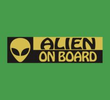 ALIEN ON BOARD by tinybiscuits