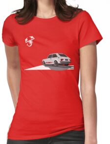 Abarth 127 Womens Fitted T-Shirt