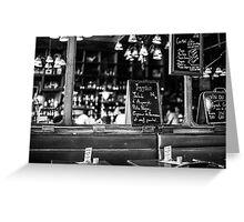 Cafe interior - Paris Greeting Card