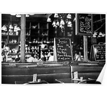 Cafe interior - Paris Poster
