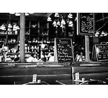 Cafe interior - Paris Photographic Print