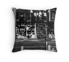 Cafe interior - Paris Throw Pillow