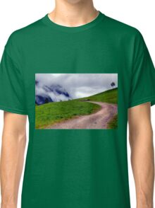 Spring meets winter in the Alps Classic T-Shirt