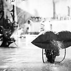 Stravinsky Fountain in Paris by Andrew & Mariya  Rovenko