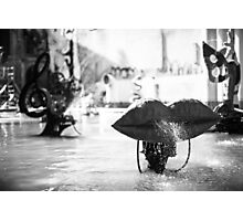 Stravinsky Fountain in Paris Photographic Print